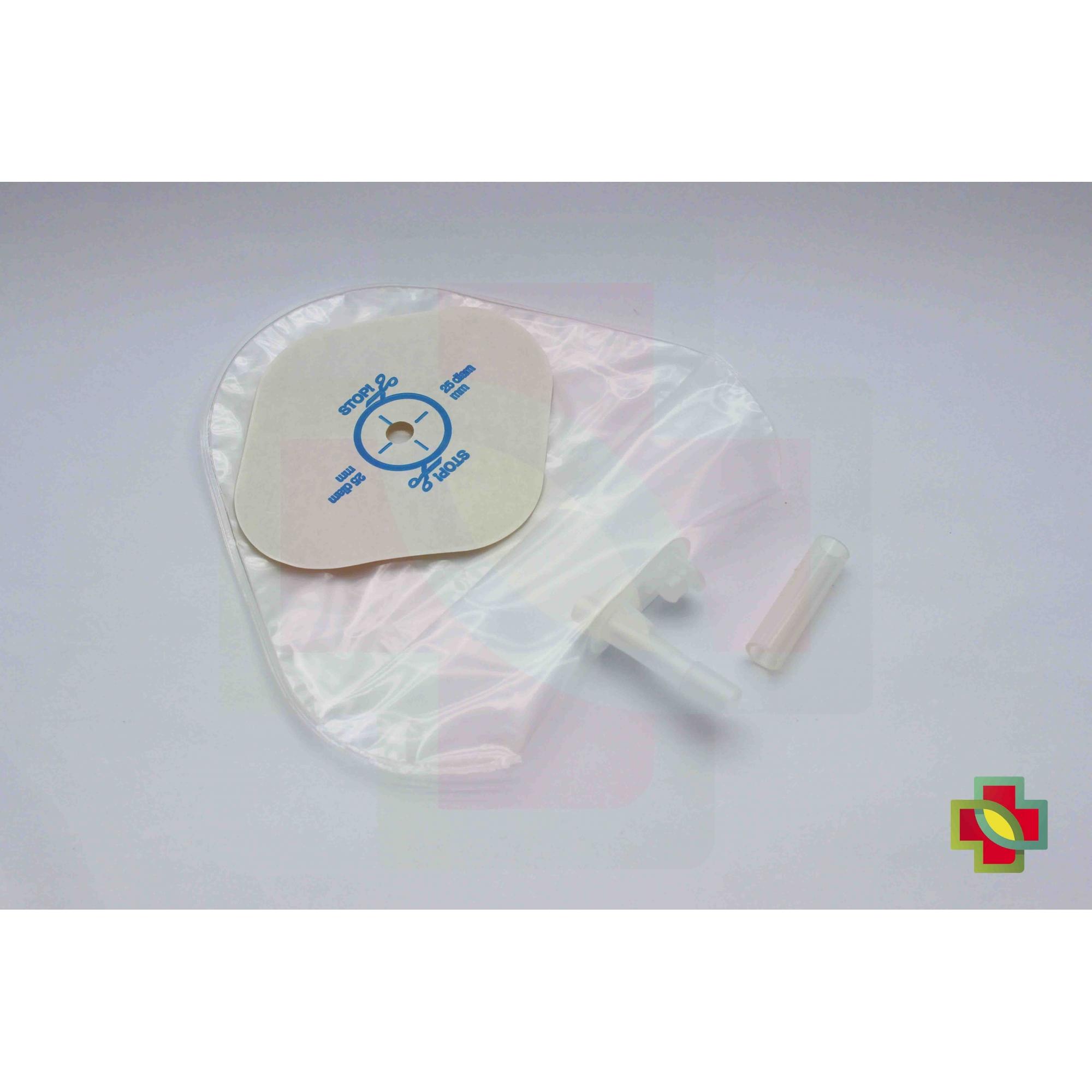 BOLSA DE UROSTOMIA ACTIVE LIFE INFANTIL TRANSPARENTE DRENÁVEL 8/25 MM (UND.) 20917 - CONVATEC