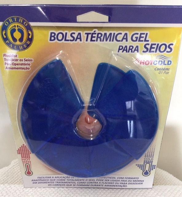 BOLSA TÉRMICA DE GEL PARA SEIOS HOT COLD  AC066 - ORTHO PAUHER