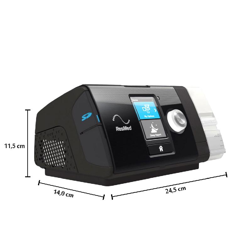 CPAP S10 BÁSICO AIRSENSE COM UMIDIFICADOR - RESMED