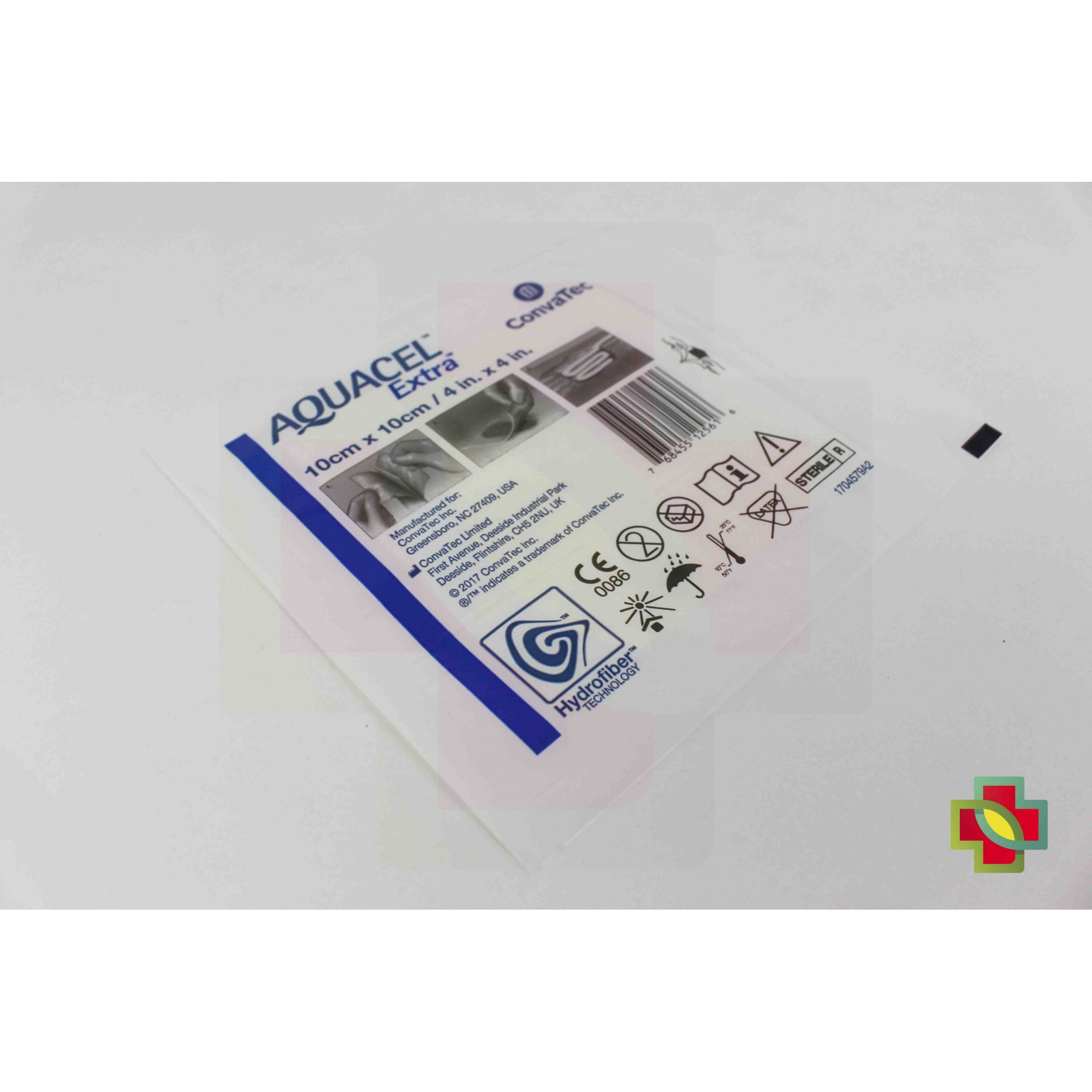 CURATIVO AQUACEL EXTRA 10 X 10 CM UND. 420672 - CONVATEC