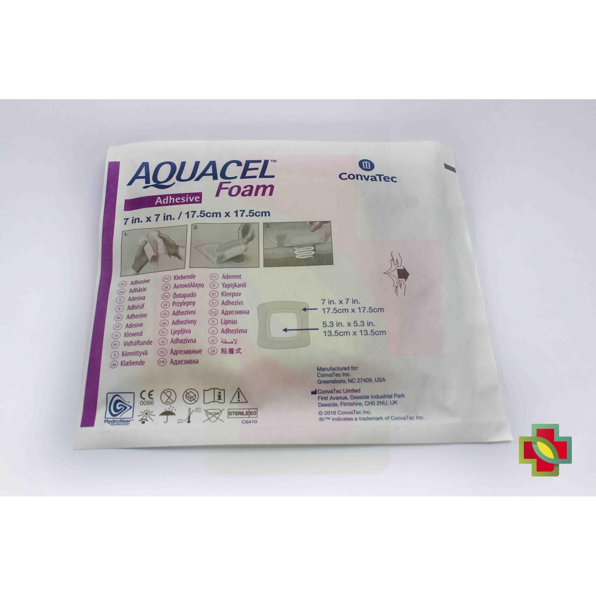 CURATIVO AQUACEL FOAM 17,5 X 17,5 CM S/ ADESIVO UND. 420621 - CONVATEC