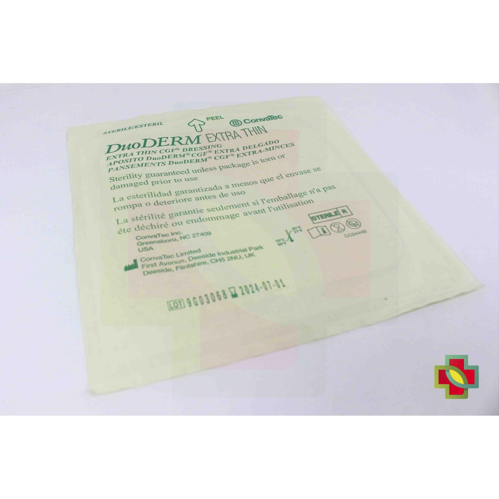 CURATIVO DUODERM EXTRA FINO 15 X 15 CM (CX C/ 10 UNDS.) 187957 - CONVATEC
