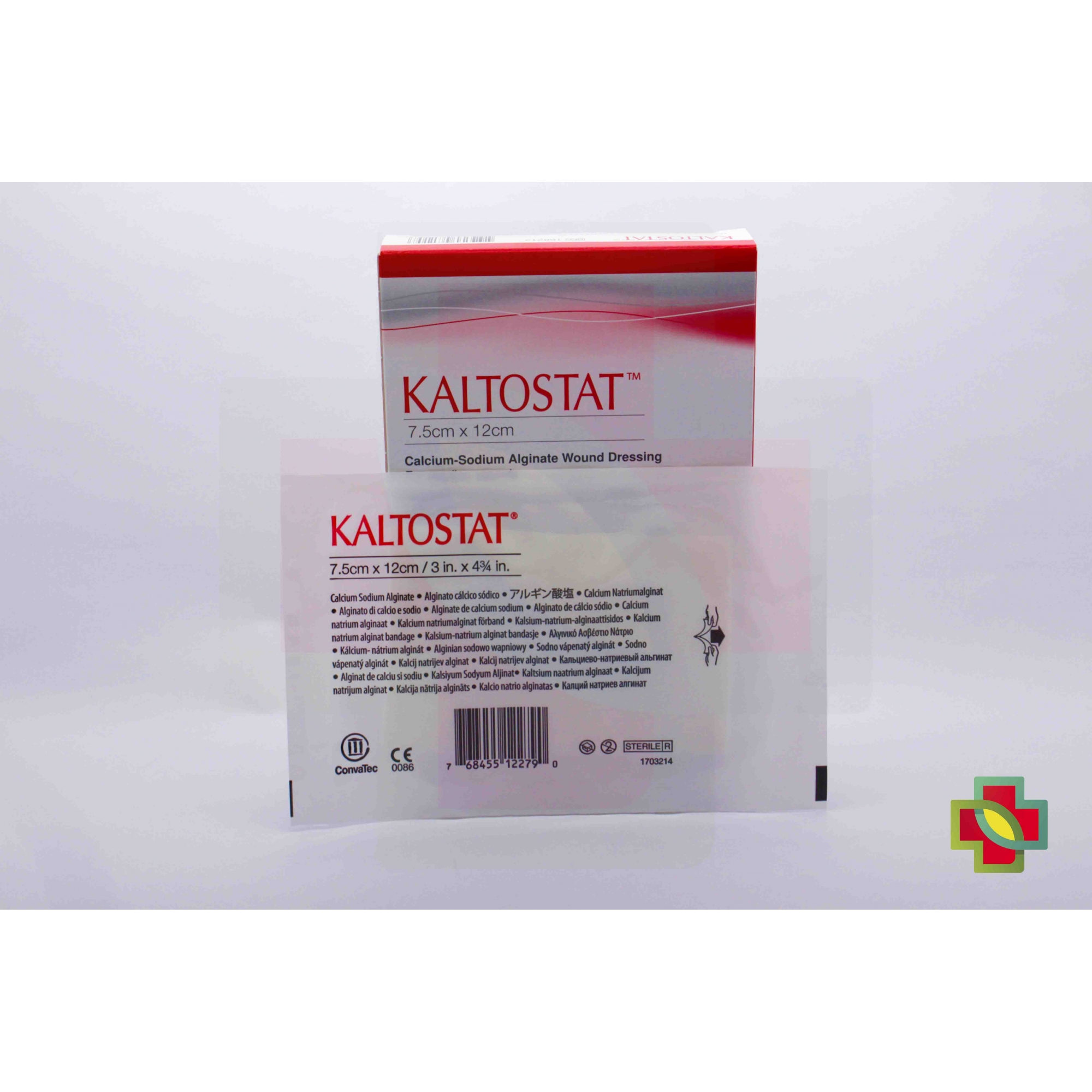 CURATIVO KALTOSTAT 7,5 X 12 CM UND. 168212 - CONVATEC