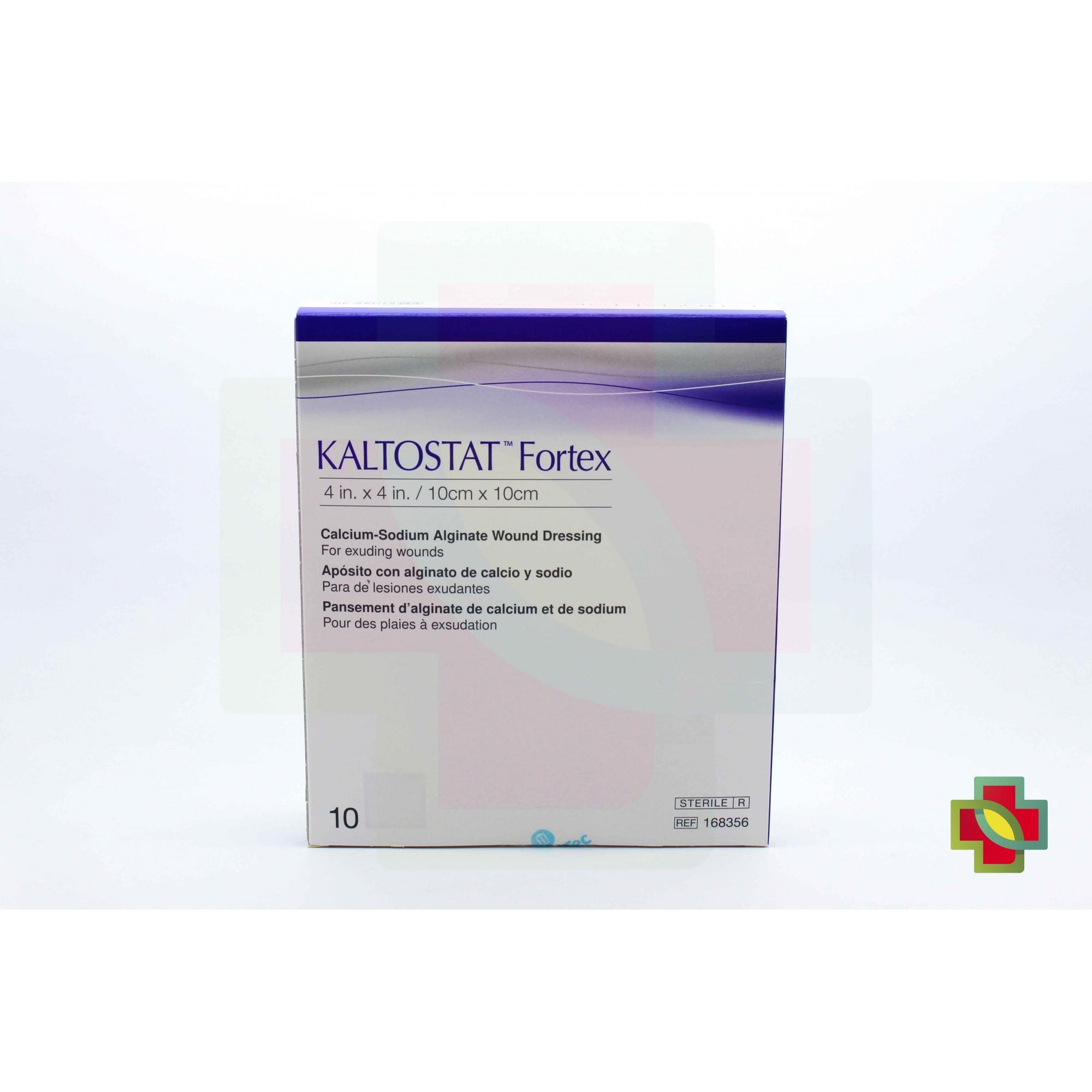 CURATIVO KALTOSTAT FORTEX 10 X 10 CM (C/10 UNDS) 168356 - CONVATEC