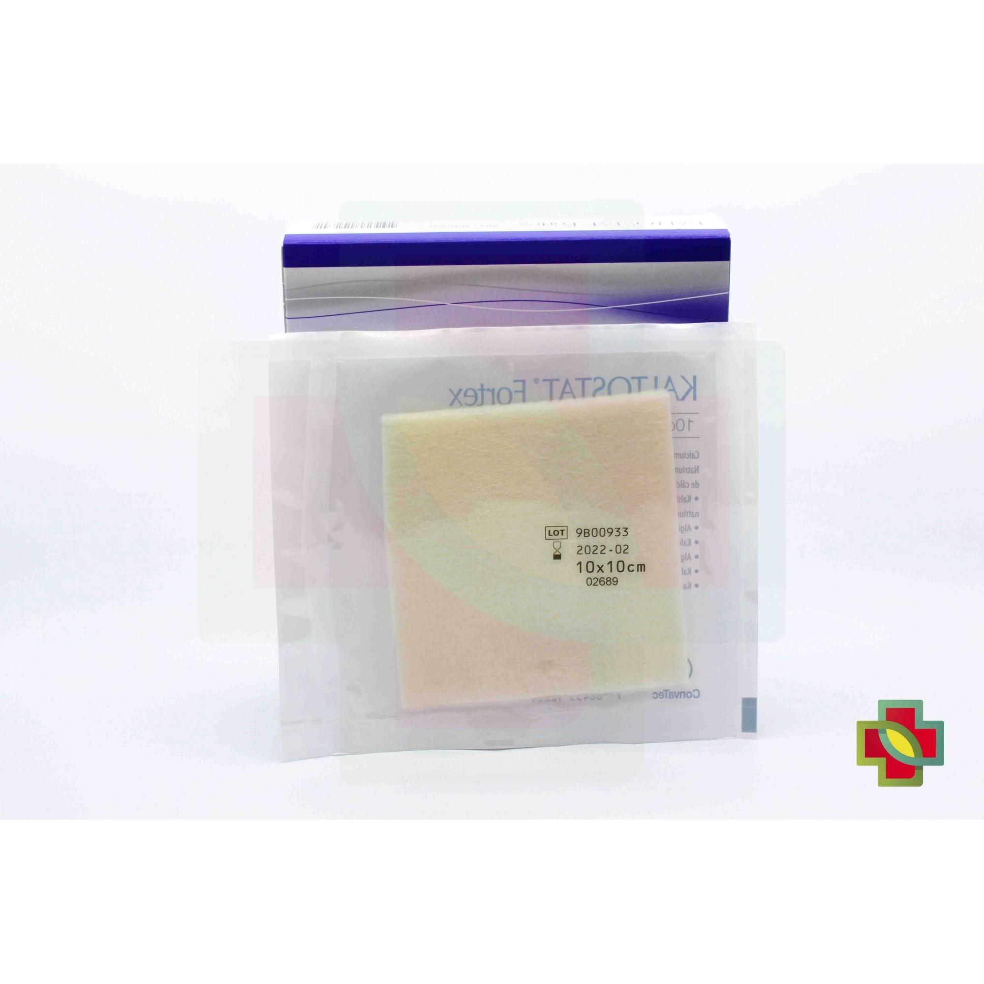 CURATIVO KALTOSTAT FORTEX 10 X 10 CM UND. 168356- CONVATEC