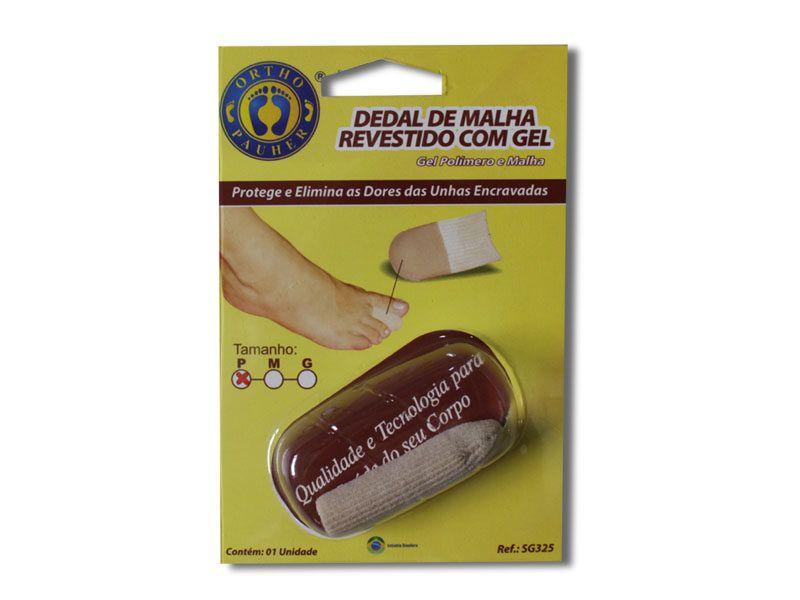 DEDAL DE MALHA REVESTIDO COM GEL M SG325 - ORTHO PAUHER