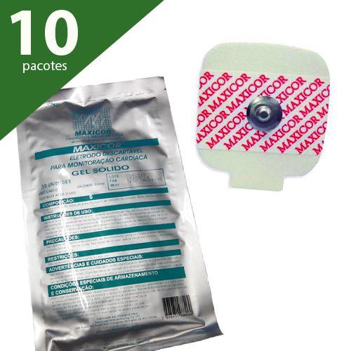 ELETRODO ECG ADULTO (PCTE COM 300 UNDS) - MAXICOR
