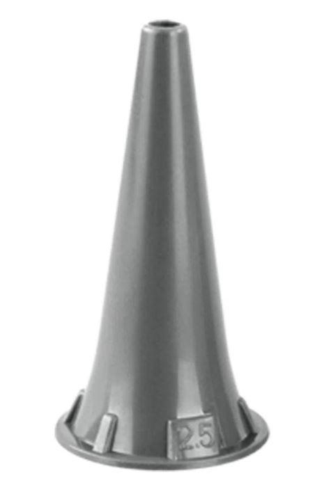 ESPECULO PARA OTOSCOPIO DESCARTÁVEL 2.5MM (C/250) OMNI - MD - MACROSUL