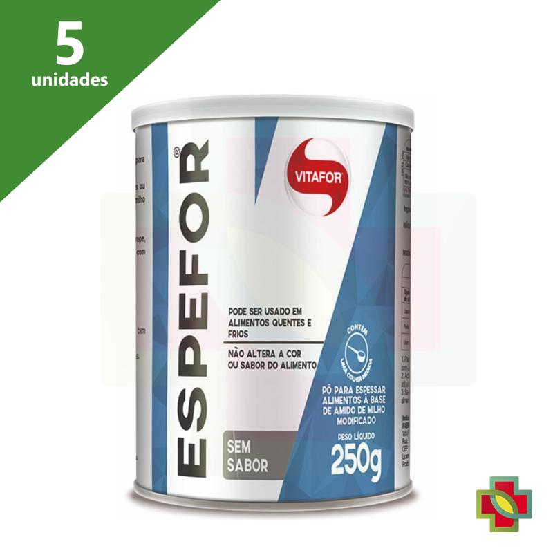 ESPEFOR 250G (KIT C/ 5 UNDS) - ESPESSANTE VITAFOR