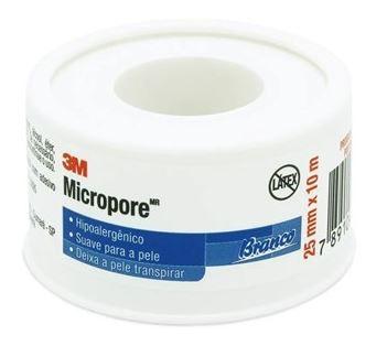 FITA MICROPORE 25MM X 10 M (ROLO) 1530 (CX C/10) - 3M