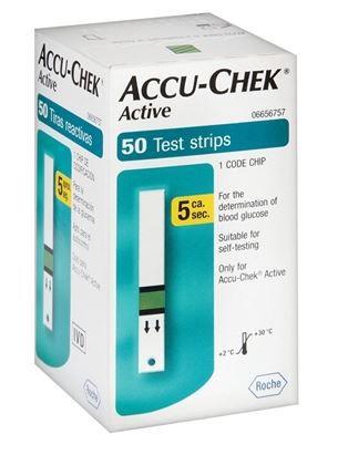 FITAS DE GLICEMIA ACCU CHECK ACTIVE (C/200 UNDS.) - ROCHE