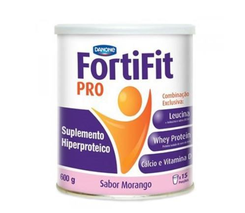 FORTIFIT MORANGO 600G - DANONE