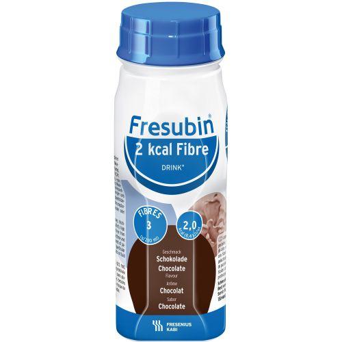 FRESUBIN 2 KCAL FIBRE DRINK CHOCOLATE 200ML - FRESENIUS