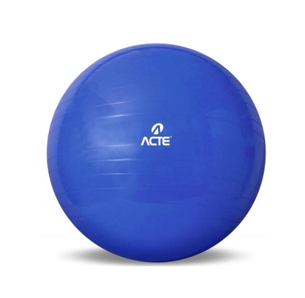 GYM BALL 65 CM AZUL ACTE T-9 - ACTE SPORTS
