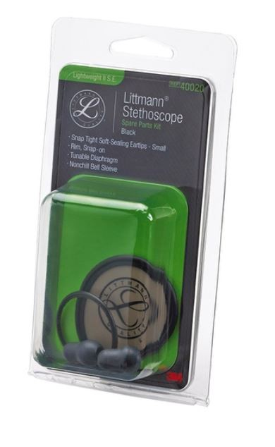KIT REPARO LITTMANN LIGHTWEIGHT PRETO 40020 - 3M