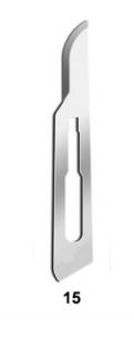 LÂMINA DE BISTURI N 15 C/300  - TOP MED