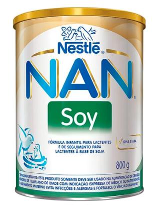 LEITE NAN SOY 800 G NESTLE
