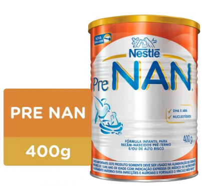 LEITE PRE NAN 400G - NESTLE