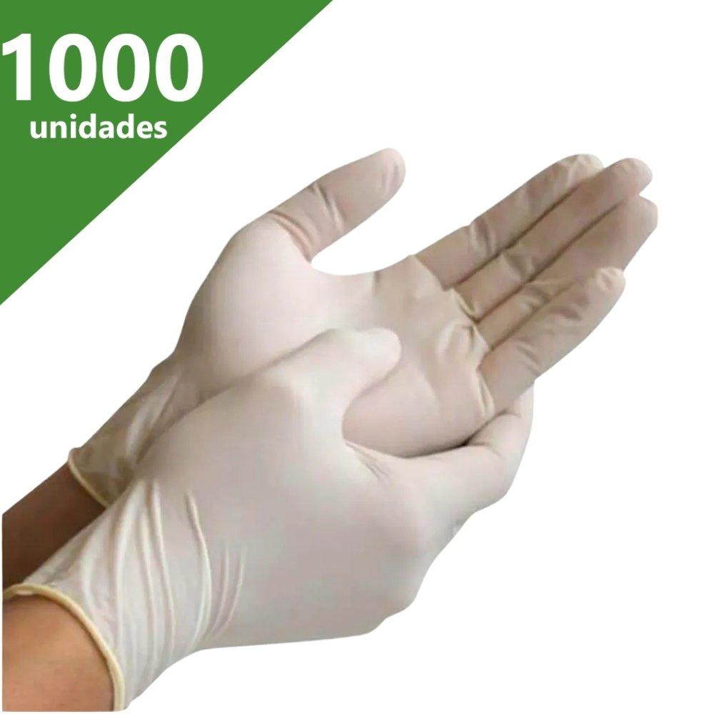LUVA DE PROCEDIMENTO LÁTEX M (C/1.000 UNDS) - NUGARD