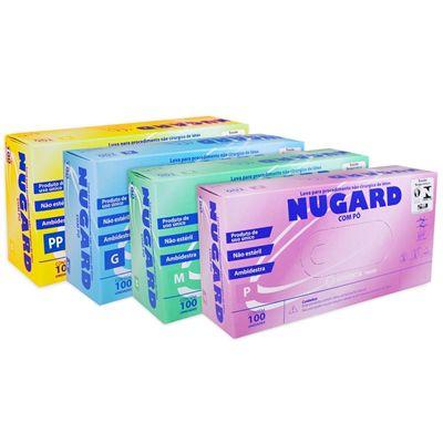 LUVA DE PROCEDIMENTO LÁTEX P C/PÓ (C/1.000 UNDS) - NUGARD