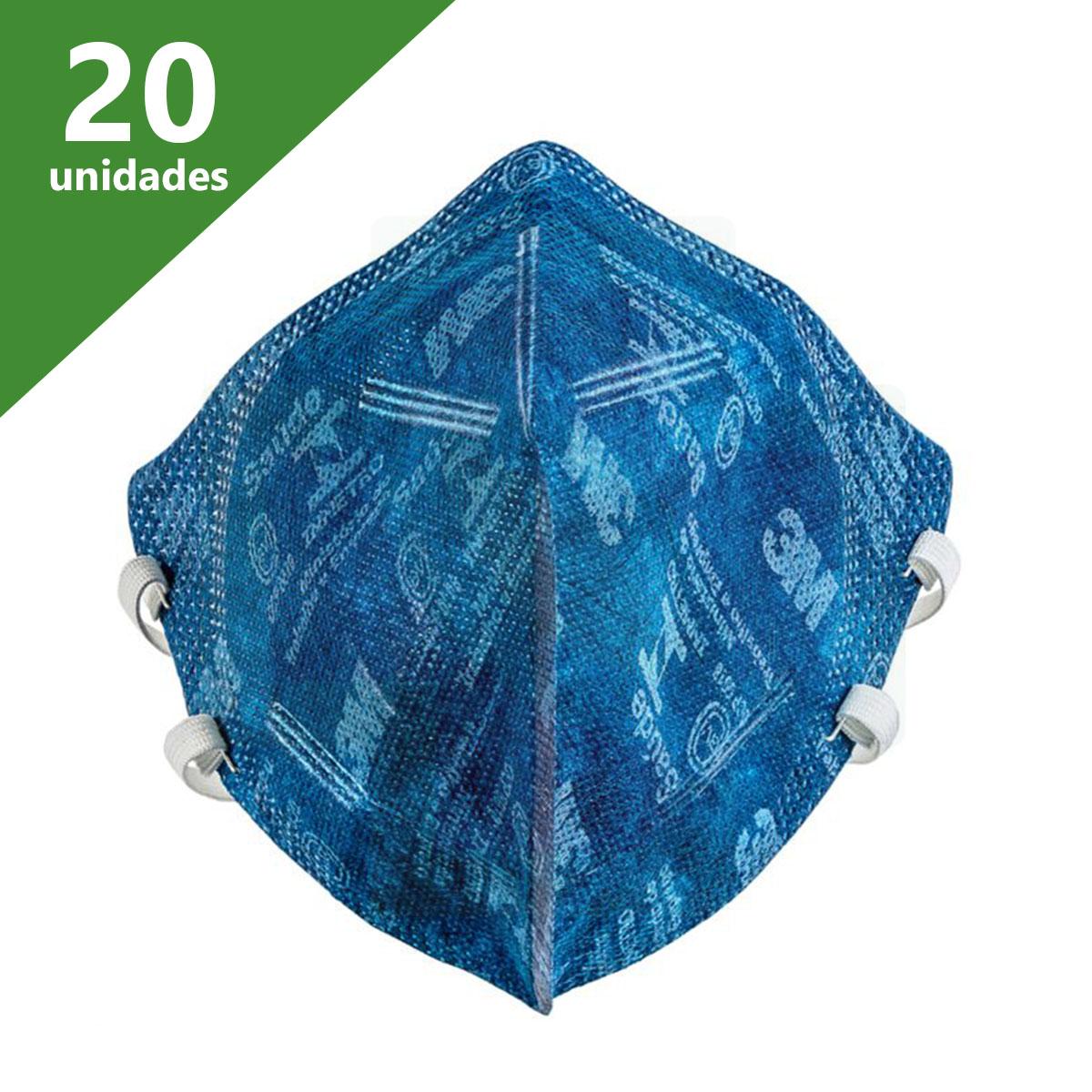 MÁSCARA N95 PFF-2 (20 UNIDS) 9820BR - 3M