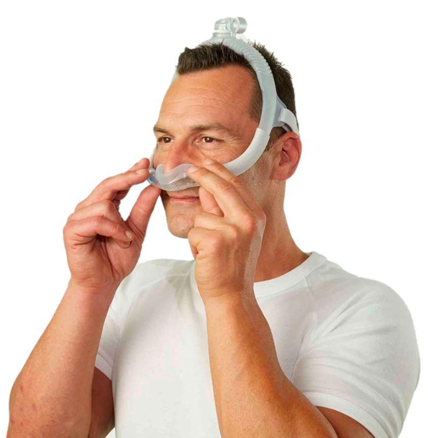 MÁSCARA P/CPAP BIPAP NASAL AIRFIT N30i PEQUENA - RESMED