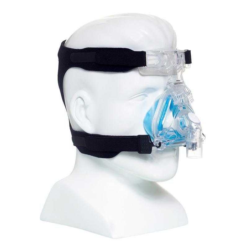 MÁSCARA PARA CPAP BIPAP NASAL COMFORT GEL BLUE TAM. G - PHILLIPS RESPIRONICS