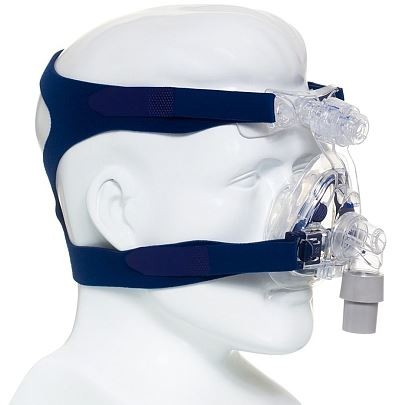 MÁSCARA PARA CPAP BIPAP NASAL MIRAGE ACTIVA LT MÉDIA - RESMED