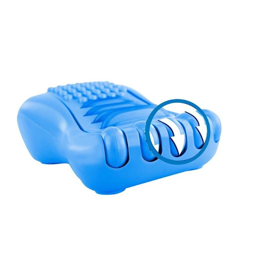 MASSAGEADOR PARA PÉS HAPPY FOOT AZUL  MG02 ORTHO PAUHER