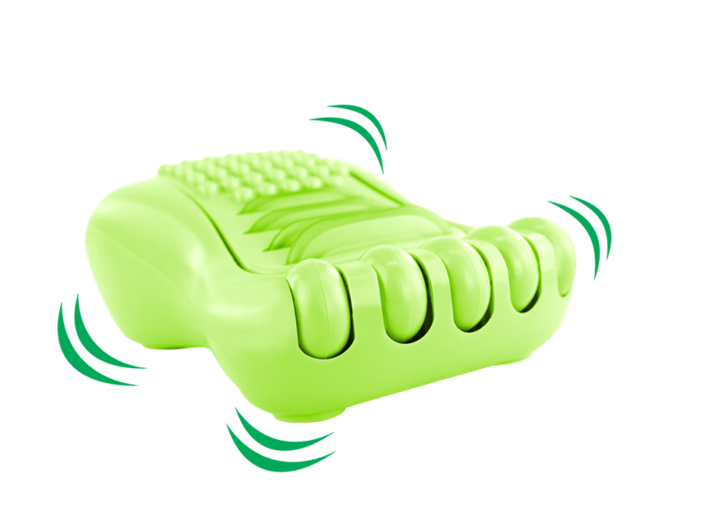 MASSAGEADOR PARA PÉS HAPPY FOOT VERDE  MG02 ORTHO PAUHER
