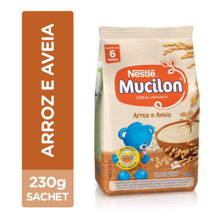 MUCILON SACHET 230GR ARROZ - NESTLE