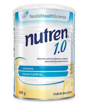 NUTREN 1.0 400G BAUNILHA - NESTLE