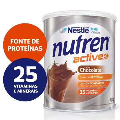 NUTREN ACTIVE PBIO1 CHOCOLATE 400G - NESTLE