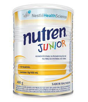 NUTREN JUNIOR 400G BAUNILHA - NESTLE