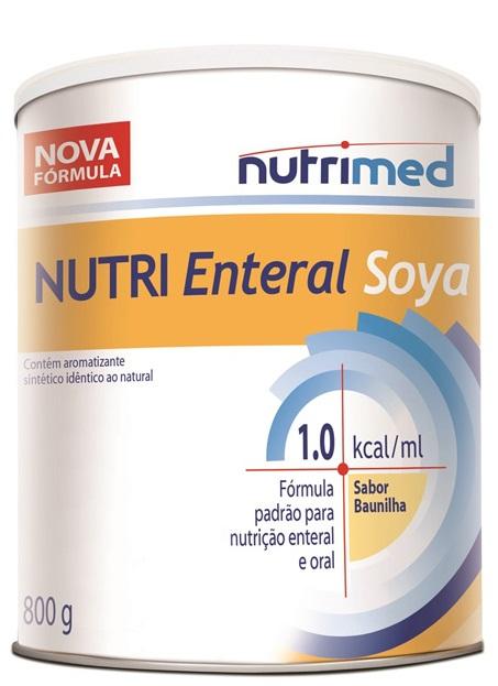 NUTRI ENTERAL SOYA 1.0KCAL/ML 800G (KIT C/06) - NUTRIMED