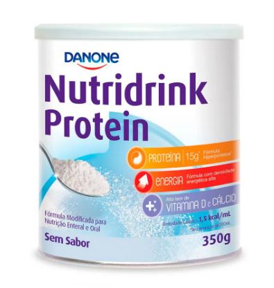 NUTRIDRINK PROTEIN SEM SABOR 350G - DANONE