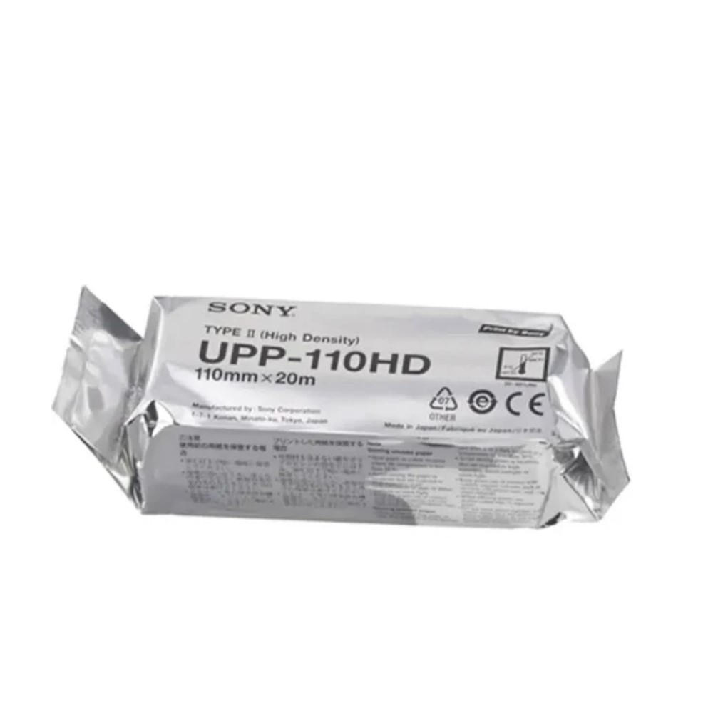 PAPEL PARA ULTRASSOM SONY PARA IMPRESSORA UPP-110HD - SONY