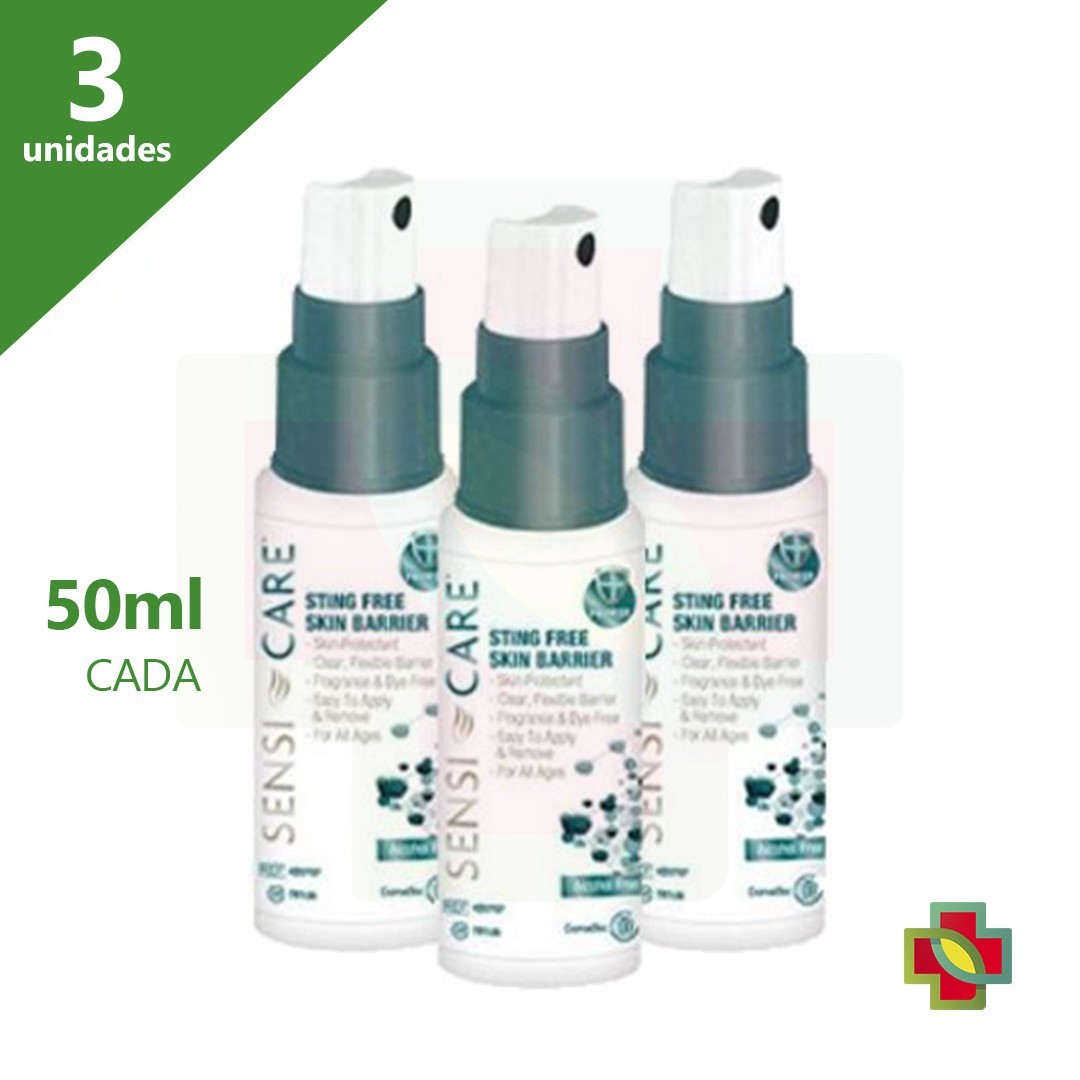 SENSI CARE SPRAY BARREIRA 50ML (KIT COM 3 UNDS) - CONVATEC