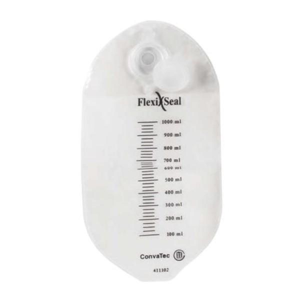SISTEMA PARA INCONTINÊNCIA FECAL FLEXI-SEAL BOLSA (1000ML) UND. 411101 - CONVATEC
