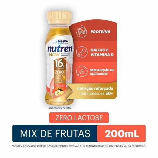 SUPLEMENTO ALIMENTAR NUTREN SENIOR MIX DE FRUTAS 200ML - NESTLÉ