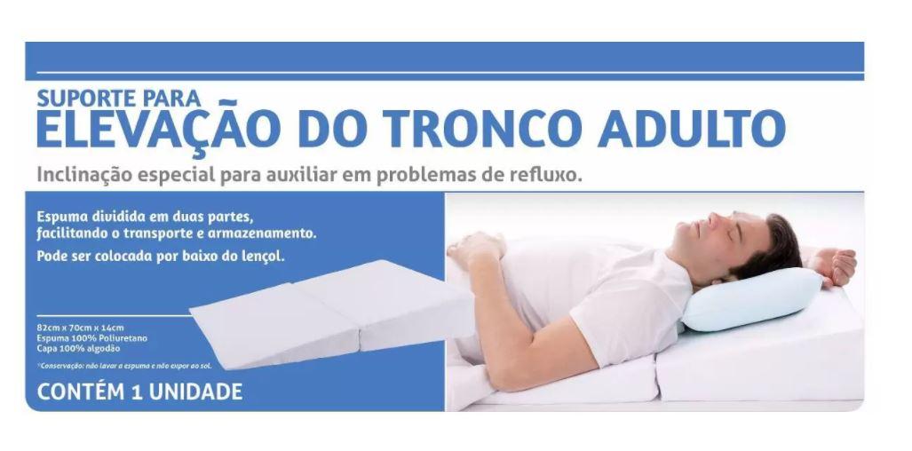 SUPORTE PARA ELEVAÇÃO DO TRONCO ADULTO - PERFETTO