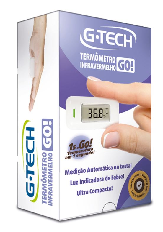 TERMÔMETRO TESTA INFRAVERMELHO ULTRACOMPACTO THGTGO - G-TECH