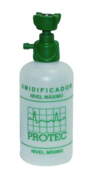 UMIDIFICADOR FRASCO 250ML O2 OXIGÊNIO 005001 - PROTEC