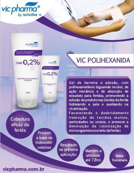 VIC POLIHEXANIDA 100G - VIC PHARMA