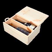 Kit 2 Gfs. Basaltino e Plume com embalagem de Madeira