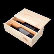 Kit 2 Gfs. Basalto e Equação com Embalagem de madeira