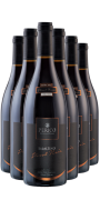 Kit 6 Gfs. Basaltino Pinot Noir 2017 -  750 ml.