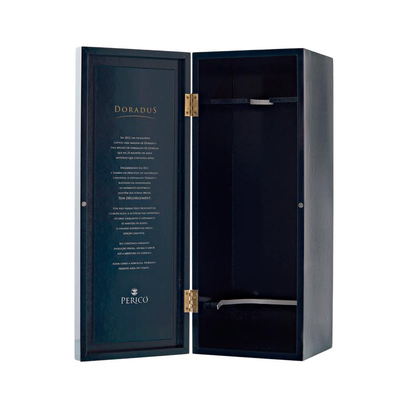 Caixa Madeira Exclusiva - Doradus 750 ml.