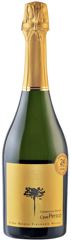 Cave Pericó - Champenoise Nature branco 2016 750 ml.