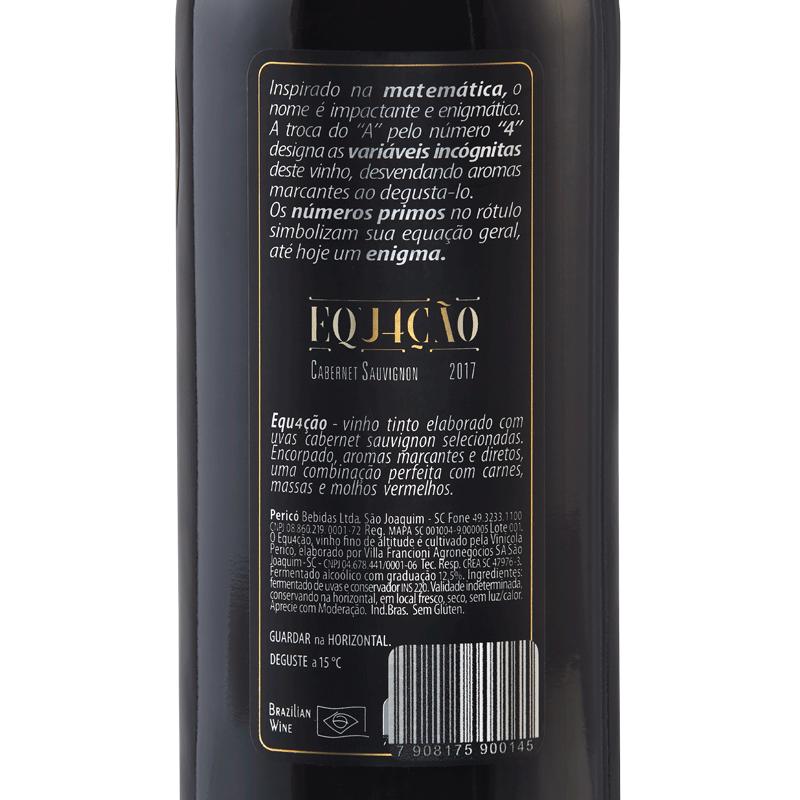 Equação 2017- Tinto 375 ml.